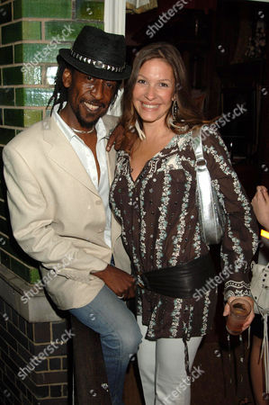 Stock Image of Tony Gad of Aswad and guest