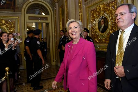 Editorial picture of DEM 2016 Clinton, Washington, USA