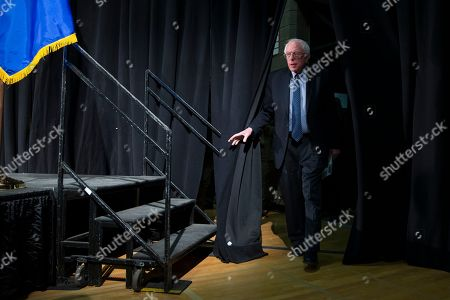 Bernie Sanders Democratic presidential candidate Sen. Bernie Sanders, I-Vt., arrives for a forum on race and economic opportunity at Patrick Henry High School,, in Minneapolis, Minn