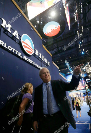 Karl Rove Karl Rove, former Senior Advisor and Deputy Chief of Staff to former President George W. Bush, is seen on the floor after a television interview at the Democratic National Convention in Charlotte, N.C., on