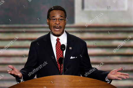 Emanuel Cleaver Rep. Emanuel Cleaver II of Missouri addresses the Democratic National Convention in Charlotte, N.C., on