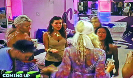 Stock Image of Lisa Huo arguing with Aisleyne Horgan Wallace over involvement in Grace Adams Short throwing water at Susie Verrico