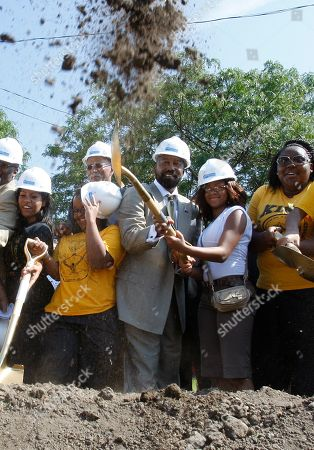 Robert Bobb Detroit Public Schools financial manager Robert Bobb, center, breaks ground with staff members from Martin Luther King High School in Detroit, . Friday's groundbreaking marks the start of the district's first construction project since Detroit voters in November approved a bond referendum to fund a $500 million building plan for the city's public schools