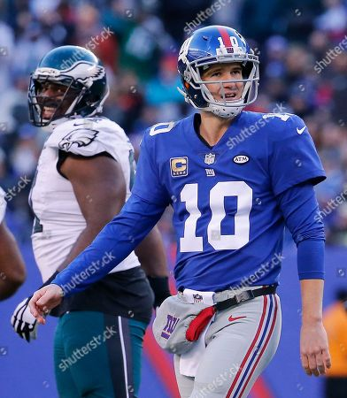 Editorial photo of Eagles Giants Football, East Rutherford, USA