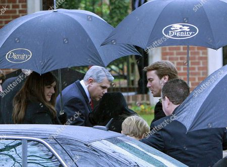 John Edwards Former North Carolina senator and Democratic presidential candidate John Edwards, right, and his daughter Cate, left, arrive for funeral services for Elizabeth Edwards at Edenton Street United Methodist Church in Raleigh, N.C., . Edwards died Tuesday of cancer at the age of 61