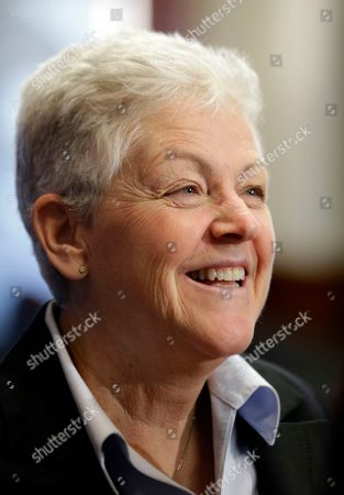 Gina McCarthy Gina McCarthy, Assistant Administrator with the Environmental Protection Agency, smiles before speaking at a climate workshop sponsored by The Climate Center at Georgetown University, in Washington. President Barack Obama is poised to nominate McCarthy as head of the powerful Environmental Protection Agency. McCarthy, who currently heads the EPA's Office of Air and Radiation, reportedly has the inside track to replace Lisa Jackson, who officially stepped down from the agency last week