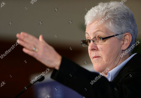 Gina McCarthy Gina McCarthy, Assistant Administrator with the Environmental Protection Agency, pauses while speaking at a climate workshop sponsored by The Climate Center at Georgetown University, in Washington. President Barack Obama is poised to nominate McCarthy as head of the powerful Environmental Protection Agency. McCarthy, who currently heads the EPA's Office of Air and Radiation, reportedly has the inside track to replace Lisa Jackson, who officially stepped down from the agency last week