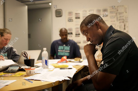 Isiah Thomas New York Liberty President IsiahThomas, right, attends a coaches meeting after a team practice in Greenburgh, N.Y. The chance to work with the Liberty is a turnaround of sorts for Thomas, too. His last stint in New York ended poorly