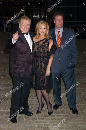 Sirio Maccioni, Kathy Hilton and Rick Hilton