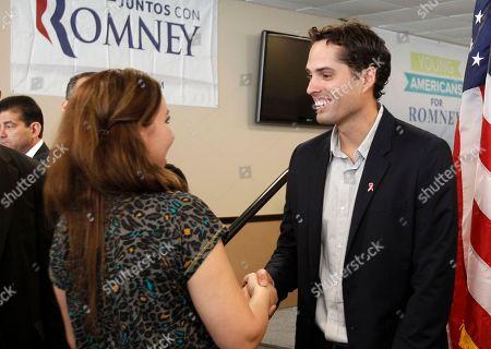 Editorial photo of Florida Craig Romney 2012, Miami, USA