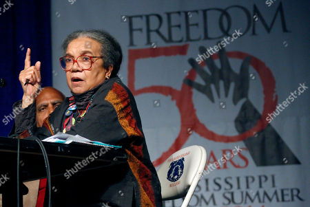 Marian Wright Edelman Children's Defense Fund president and founder Marian Wright Edelman discusses the importance of Freedom Summer 1964 during the 50th Anniversary conference at Tougaloo College in Jackson, Miss., . The civil rights activist was the first black woman admitted to the Mississippi Bar and practiced law with the NAACP Legal Defense and Educational Fund, Inc.'s Mississippi office, working on racial justice issues connected with the civil rights movement and representing activists during the Mississippi Freedom Summer of 1964. The conference commemorates the months of 1964 when volunteers came from across the country to assist state and local NAACP leaders and others in the South's voter registration drives, and especially in Mississippi