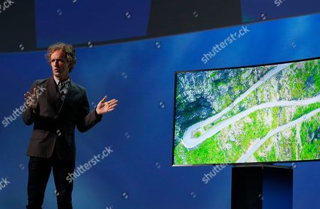 Yves Behar Yves Behar speaks about television design during a Samsung news conference before the International CES show, in Las Vegas