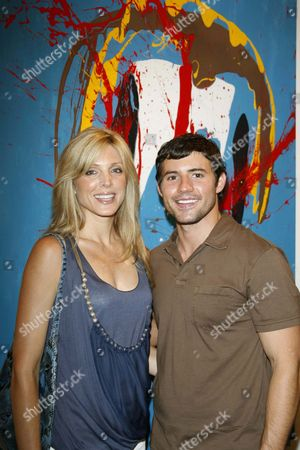 Stock Image of Marla Maples and Kris Black