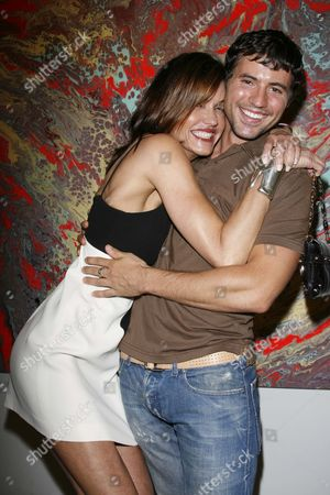 Editorial picture of KRIS BLACK'S ART GALA TO BENEFIT 'STARS PAW RESCUE', LOS ANGELES, AMERICA - 17TH JUNE 2006