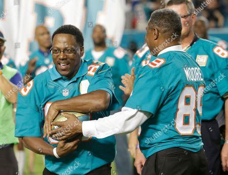 Editorial image of Giants Dolphins Football, Miami Gardens, USA