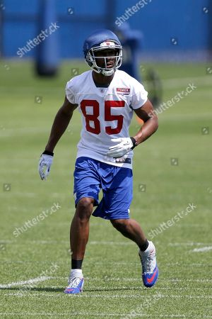 Ramses Barden New York Giants wide receiver Ramses Barden jogs during NFL football camp, in East Rutherford, N.J