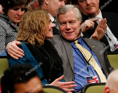 Bob McDonnell Former Va. Gov. Bob McDonnell, right, talks with his daughter Rachel, as they await an appearance by Republican presidential candidate, Sen. Ted Cruz, R-Tx. at Regent University in Virginia Beach, Va