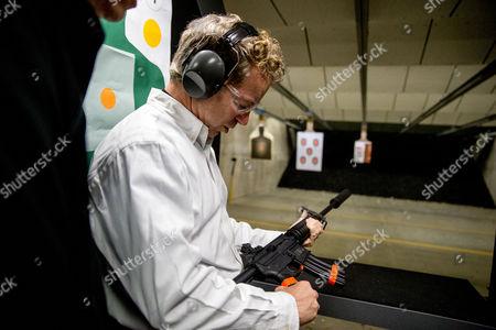 Rand Paul Republican presidential candidate Sen. Rand Paul, R-Ky., fires an AR-15 rifle at Crossroads Shooting Sports in Johnston, Iowa