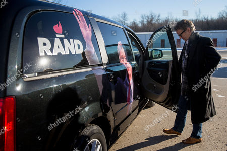 Rand Paul Republican presidential candidate Sen. Rand Paul, R-Ky., departs after firing an AR-15 rifle at Crossroads Shooting Sports in Johnston, Iowa