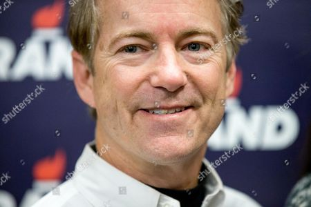 Rand Paul Republican presidential candidate Sen. Rand Paul, R-Ky., smiles for a photograph after firing an AR-15 rifle at Crossroads Shooting Sports in Johnston, Iowa