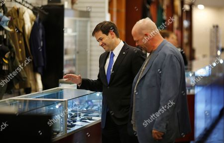Marco Rubio, Rick Harrison Republican presidential candidate Sen. Marco Rubio, left, R-Fla., tours the World Famous Gold & Silver Pawn shop with owner Rick Harrison, in Las Vegas. Harrison is on the television show Pawn Stars