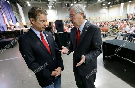 Rand Paul, Terry Branstad Iowa Gov. Terry Branstad, right, talks with Sen. Rand Paul, R-Ky., during the Iowa State Republican Convention in Des Moines, Iowa. Branstad has been working hard to spread the word that the Iowa Republican Party and the state's lead-off presidential caucuses are welcoming to all Republicans
