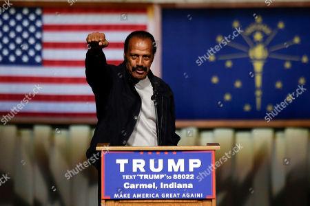 Editorial photo of GOP 2016 Trump, Carmel, USA