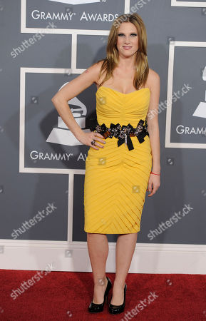 Lucy Walsh Lucy Walsh arrives at the 53rd annual Grammy Awards, in Los Angeles