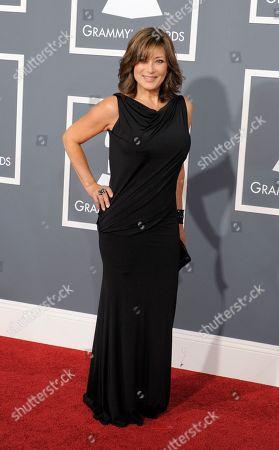 Denise Donatelli Denise Donatelli arrives at the 53rd annual Grammy Awards, in Los Angeles