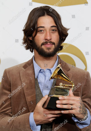 Ryan Bingham Ryan Bingham poses backstage with the award for best song written for motion picture, television or other visual media at the 53rd annual Grammy Awards, in Los Angeles
