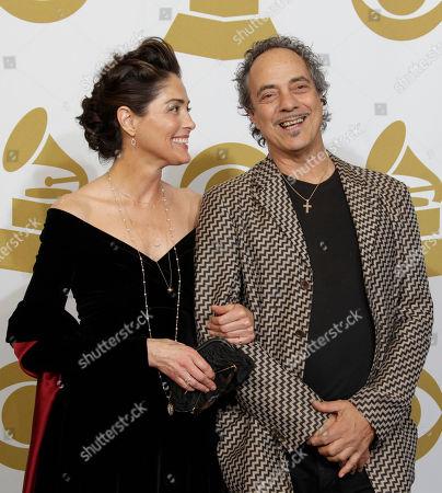 Editorial photo of Grammy Awards Press Room, Los Angeles, USA