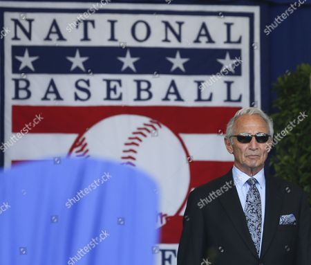 Sandy Koufax National Baseball Hall of Famer Sandy Koufax arrives for an induction ceremony at the Clark Sports Center, in Cooperstown, N.Y