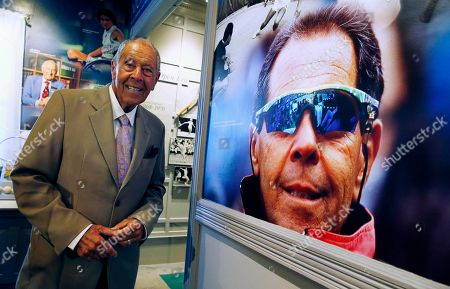 Nick Bollettieri Nick Bollettieri pauses in the tennis museum beside a photograph of himself from 1991 before being inducted into the Tennis Hall of Fame in Newport, R.I