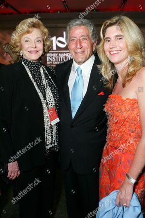 Barbara Sinatra, Tony Bennett and girlfriend