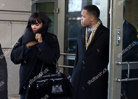 Stock Picture of Jesse Jackson Jr., Sandi Jackson Former Illinois Rep. Jesse Jackson Jr. and his wife Sandi leave federal court in Washington. Prosecutors are recommending four years in prison for Rep. Jesse Jackson Jr., following his guilty plea this year on criminal charges that he engaged in a scheme to spend $750,000 in campaign funds on personal items. The government is also recommending that Jackson be ordered to pay $750,000 in restitution to the campaign, and forfeit $750,000. He is scheduled to be sentenced on July 3, along with his wife, Sandra. She pleaded guilty to filing false joint federal income tax returns that knowingly understated the income the couple received