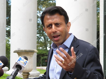 Editorial photo of Jindal Returns, Baton Rouge, USA