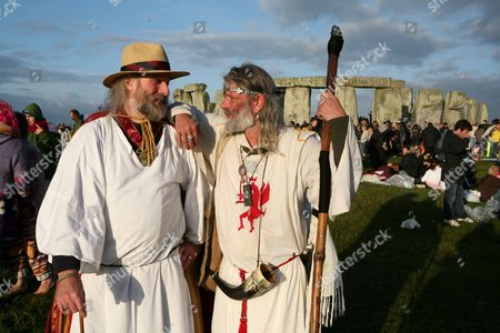 Editorial image of SUMMER SOLSTICE, STONEHENGE, WILTSHIRE, BRITAIN - 21 JUNE 2006