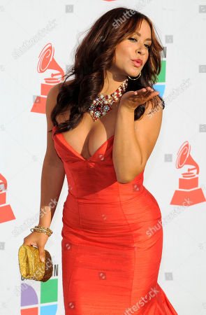 Stock Photo of Paloma Michelle Paloma Michelle arrives at the 11th Annual Latin Grammy Awards, in Las Vegas