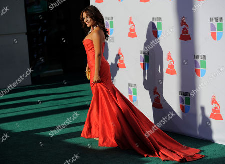 Stock Image of Paloma Michelle Paloma Michelle arrives at the 11th Annual Latin Grammy Awards, in Las Vegas