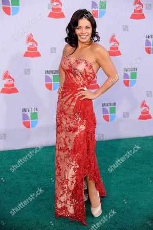 Julie Ferretti Julie Ferretti arrives at the 11th Annual Latin Grammy Awards, in Las Vegas