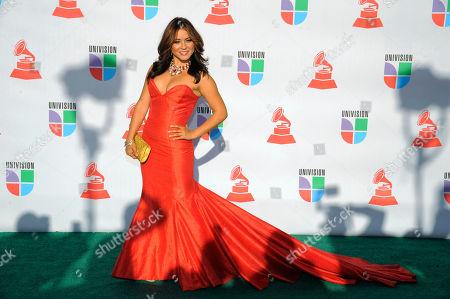 Editorial image of Latin Grammy Awards Arrivals, Las Vegas, USA