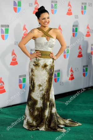 Karen Hoyos Karen Hoyos arrives at the 11th Annual Latin Grammy Awards, in Las Vegas