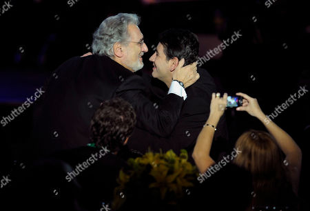 Placido Domingo, Placido Domingo Jr Placido Domingo, left, and Placido Domingo Jr. are seend at the Latin Recording Academy Person of the Year event honoring Placido Domingo, in Las Vegas