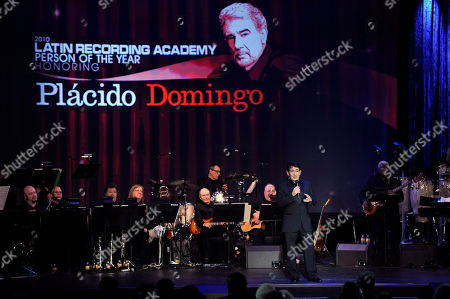 Placido Domingo Jr Placido Domingo Jr. speaks onstage at the Latin Recording Academy Person of the Year event honoring Placido Domingo, in Las Vegas