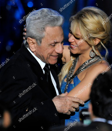 Shakira, William Mebarak Chadid Shakira, right and her father William Mebarak Chadid are seen at the Latin Recording Academy Person of the Year tribute in her honor on in Las Vegas