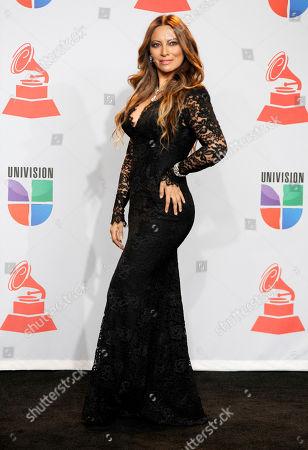 Myriam Hernandez Myriam Hernandez poses backstage at the 12th Annual Latin Grammy Awards on in Las Vegas
