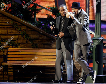 "Ben E. King, Prince Royce Ben E. King, left, and Prince Royce perform ""Stand By Me"" onstage at the 11th Annual Latin Grammy Awards, in Las Vegas"