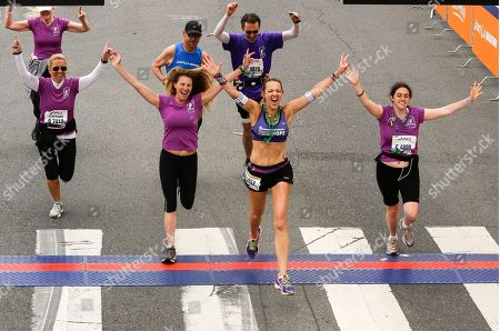 Julie Weiss Julie Weiss, 42, leading center runs with members of the Pancreatic Cancer Action Network, after completing her 52 marathon in 52 weeks, in dedication to her father who died of had died from pancreatic cancer at age 75 in Santa Monica, Calif., . Weiss kwon as the marathon goodness is running to benefit the Manhattan Beach-based Pancreatic Cancer Action Network