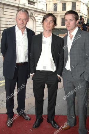 Liam Cunningham, Cillan Murphy and Padraic Delaney