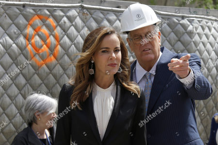 "David H. Koch, Julia Koch David H. Koch, right, and his wife Julia take in the sight of the future David H. Koch Center for Cancer Care during a ""turning of the soil"" ceremony, in New York. Koch has given $150 million to Memorial Sloan Kettering Cancer Center. His donation will help build a $1.3 billion, 23-story outpatient cancer center in Manhattan. It's expected to serve about 1,300 patients daily"
